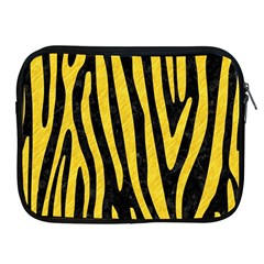 Skin4 Black Marble & Yellow Colored Pencil Apple Ipad 2/3/4 Zipper Cases
