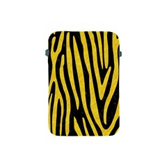 Skin4 Black Marble & Yellow Colored Pencil Apple Ipad Mini Protective Soft Cases