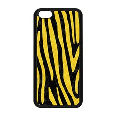 Skin4 Black Marble & Yellow Colored Pencil Apple Iphone 5c Seamless Case (black)