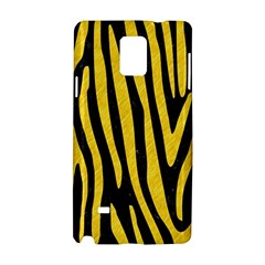 Skin4 Black Marble & Yellow Colored Pencil Samsung Galaxy Note 4 Hardshell Case