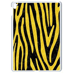 Skin4 Black Marble & Yellow Colored Pencil Apple Ipad Pro 9 7   White Seamless Case