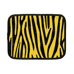 Skin4 Black Marble & Yellow Colored Pencil (r) Netbook Case (small)