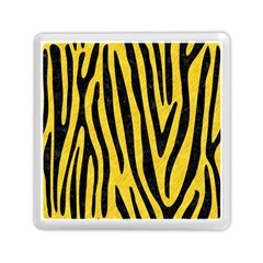 Skin4 Black Marble & Yellow Colored Pencil (r) Memory Card Reader (square)