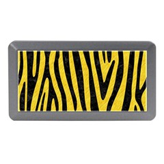 Skin4 Black Marble & Yellow Colored Pencil (r) Memory Card Reader (mini)