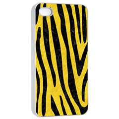 Skin4 Black Marble & Yellow Colored Pencil (r) Apple Iphone 4/4s Seamless Case (white)