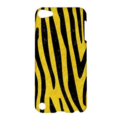 Skin4 Black Marble & Yellow Colored Pencil (r) Apple Ipod Touch 5 Hardshell Case
