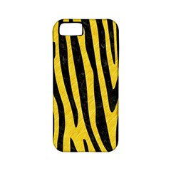 Skin4 Black Marble & Yellow Colored Pencil (r) Apple Iphone 5 Classic Hardshell Case (pc+silicone)