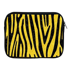 Skin4 Black Marble & Yellow Colored Pencil (r) Apple Ipad 2/3/4 Zipper Cases