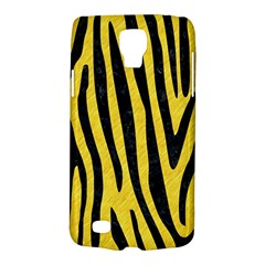 Skin4 Black Marble & Yellow Colored Pencil (r) Galaxy S4 Active
