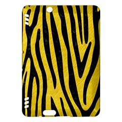 Skin4 Black Marble & Yellow Colored Pencil (r) Kindle Fire Hdx Hardshell Case