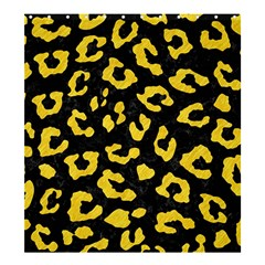 Skin5 Black Marble & Yellow Colored Pencil Shower Curtain 66  X 72  (large)