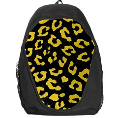Skin5 Black Marble & Yellow Colored Pencil Backpack Bag