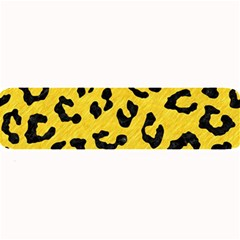 Skin5 Black Marble & Yellow Colored Pencil (r) Large Bar Mats