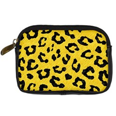 Skin5 Black Marble & Yellow Colored Pencil (r) Digital Camera Cases