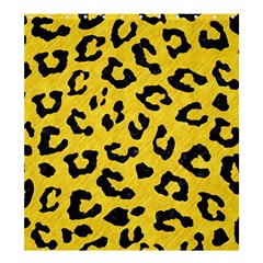 Skin5 Black Marble & Yellow Colored Pencil (r) Shower Curtain 66  X 72  (large)