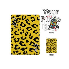 Skin5 Black Marble & Yellow Colored Pencil (r) Playing Cards 54 (mini)