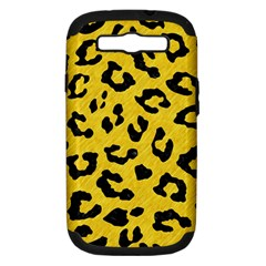 Skin5 Black Marble & Yellow Colored Pencil (r) Samsung Galaxy S Iii Hardshell Case (pc+silicone)