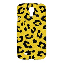 Skin5 Black Marble & Yellow Colored Pencil (r) Samsung Galaxy S4 I9500/i9505 Hardshell Case