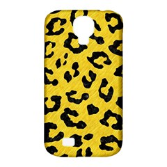 Skin5 Black Marble & Yellow Colored Pencil (r) Samsung Galaxy S4 Classic Hardshell Case (pc+silicone)