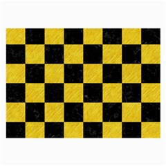 Square1 Black Marble & Yellow Colored Pencil Large Glasses Cloth