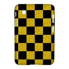 Square1 Black Marble & Yellow Colored Pencil Samsung Galaxy Tab 2 (7 ) P3100 Hardshell Case