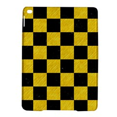 Square1 Black Marble & Yellow Colored Pencil Ipad Air 2 Hardshell Cases