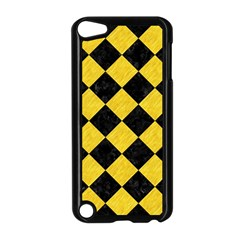 Square2 Black Marble & Yellow Colored Pencil Apple Ipod Touch 5 Case (black)