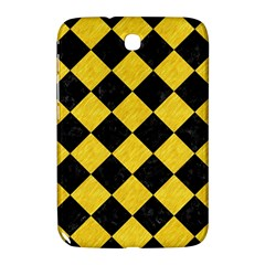 Square2 Black Marble & Yellow Colored Pencil Samsung Galaxy Note 8 0 N5100 Hardshell Case