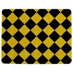 Square2 Black Marble & Yellow Colored Pencil Jigsaw Puzzle Photo Stand (rectangular)