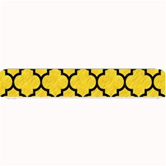 Tile1 Black Marble & Yellow Colored Pencil Small Bar Mats