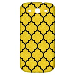 Tile1 Black Marble & Yellow Colored Pencil Samsung Galaxy S3 S Iii Classic Hardshell Back Case