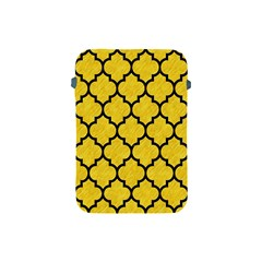 Tile1 Black Marble & Yellow Colored Pencil Apple Ipad Mini Protective Soft Cases