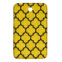 Tile1 Black Marble & Yellow Colored Pencil Samsung Galaxy Tab 3 (7 ) P3200 Hardshell Case