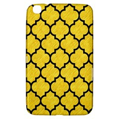 Tile1 Black Marble & Yellow Colored Pencil Samsung Galaxy Tab 3 (8 ) T3100 Hardshell Case