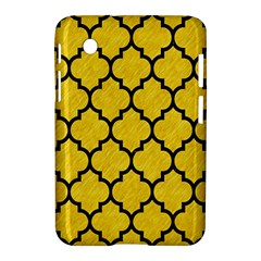 Tile1 Black Marble & Yellow Colored Pencil Samsung Galaxy Tab 2 (7 ) P3100 Hardshell Case
