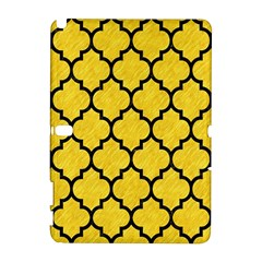 Tile1 Black Marble & Yellow Colored Pencil Galaxy Note 1