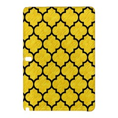 Tile1 Black Marble & Yellow Colored Pencil Samsung Galaxy Tab Pro 12 2 Hardshell Case