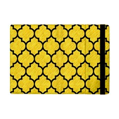 Tile1 Black Marble & Yellow Colored Pencil Ipad Mini 2 Flip Cases