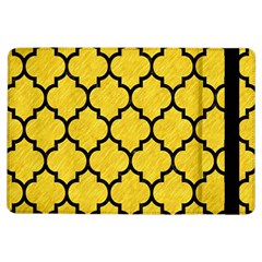 Tile1 Black Marble & Yellow Colored Pencil Ipad Air Flip