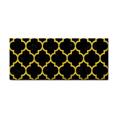 Tile1 Black Marble & Yellow Colored Pencil (r) Cosmetic Storage Cases