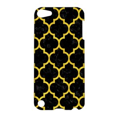 Tile1 Black Marble & Yellow Colored Pencil (r) Apple Ipod Touch 5 Hardshell Case
