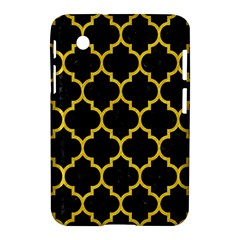 Tile1 Black Marble & Yellow Colored Pencil (r) Samsung Galaxy Tab 2 (7 ) P3100 Hardshell Case