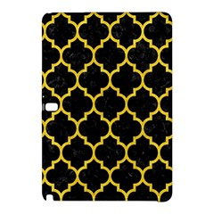 Tile1 Black Marble & Yellow Colored Pencil (r) Samsung Galaxy Tab Pro 10 1 Hardshell Case