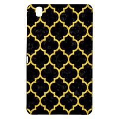 Tile1 Black Marble & Yellow Colored Pencil (r) Samsung Galaxy Tab Pro 8 4 Hardshell Case