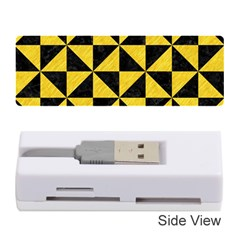 Triangle1 Black Marble & Yellow Colored Pencil Memory Card Reader (stick)