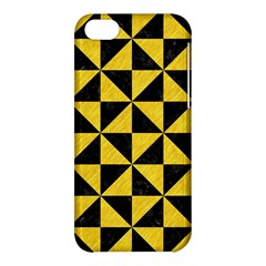 Triangle1 Black Marble & Yellow Colored Pencil Apple Iphone 5c Hardshell Case