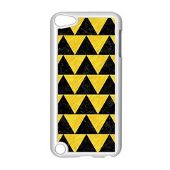 Triangle2 Black Marble & Yellow Colored Pencil Apple Ipod Touch 5 Case (white)