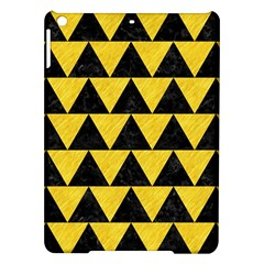 Triangle2 Black Marble & Yellow Colored Pencil Ipad Air Hardshell Cases