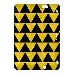 Triangle2 Black Marble & Yellow Colored Pencil Kindle Fire Hdx 8 9  Hardshell Case