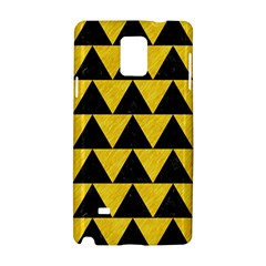 Triangle2 Black Marble & Yellow Colored Pencil Samsung Galaxy Note 4 Hardshell Case